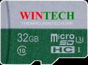 Thẻ Nhớ Thẻ nhớ SD WinTech 32GB Class 10